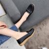 พร้อมส่ง รองเท้าคัทชูส้นเตี้ย N0119D4-BLK [สีดำ]