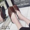พร้อมส่ง รองเท้าแตะงานสวม หน้าตัด G-1190-BWN [สีน้ำตาล]