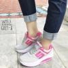 พร้อมส่ง รองเท้าผ้าใบผู้หญิง SM9014-GREY-A [สีเทา]