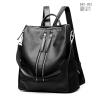 พร้อมส่ง เป้หนังผู้หญิง-BAG-003 [สีดำ]