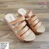 พร้อมส่ง รองเท้าสวมลำลองส้นเตารีด 981-70-BRN [สีน้ำตาล]
