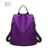 พร้อมส่ง กระเป๋าเป้ผ้าไนล่อน-BAG-012 [สีม่วง]