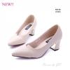 พร้อมส่ง รองเท้าคัทชูผู้หญิง K9148A1-CREAM [สีครีม]