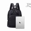 พร้อมส่ง กระเป๋าเป้ผ้าไนล่อนสไตล์ญี่ปุ่น - 1048 [สีดำ]