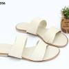 พร้อมส่ง รองเท้าแตะแบบสวม SB07-356-CRM [สีครีม]