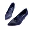 พร้อมส่ง รองเท้าคัชชูสไตล์สาวออฟฟิศ K23119C3-BLK [สีดำ]