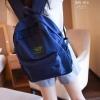 พร้อมส่ง กระเป๋าเป้ผู้หญิงผ้าไนล่อนสีสดใส-BAG-014 [สีน้ำเงิน]