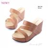 พร้อมส่ง รองเท้าลำลอง แบบสวม 981-104C3-BWN [สีน้ำตาล]