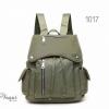 พร้อมส่ง กระเป๋าเป้ผู้หญิงสไตล์ญี่ปุ่น-1017 [สีเขียว]