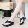 พร้อมส่ง รองเท้าเพื่อสุขภาพ ฟิทฟลอปหนีบ F1013-BLK [สีดำ]