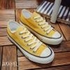 พร้อมส่ง รองเท้าผ้าใบแฟชั่น A19-YEL [สีเหลือง]