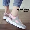 พร้อมส่ง รองเท้าผ้าใบผู้หญิง SM9023-PNK [สีชมพู]
