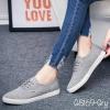 พร้อมส่ง รองเท้าผ้าใบแฟชั่น G8169-GRY [สีเทา]