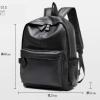 พร้อมส่ง กระเป๋าเป้ผู้ชายหนังนิ่ม-BAG-015 [สีดำ]
