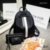 พร้อมส่ง กระเป๋าเป้ไนล่อนเซ็ทBSF17013 [สีดำแถบขาว]