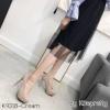 พร้อมส่ง รองเท้าคัชชูงานเกาหลี K9318D2-CREAM [สีครีม]
