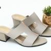 พร้อมส่ง รองเท้าแตะแบบสวม สไตล์แบรนด์ดัง 26-32-GRA [สีเทา]