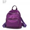 พร้อมส่ง กระเป๋าเป้ผ้าไนล่อนผู้หญิง-BAG-008 [สีม่วง]