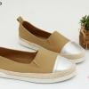 พร้อมส่ง รองเท้าคัชชูแบบสวม D591223-KHA [สีกากี]