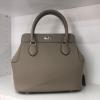 พร้อมส่ง กระเป๋าสะพายข้างหนังแท้ Toolbox 24 CM Leather [สีกากี]
