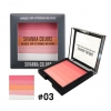 SIVANNA COLORS MAKE UP STUDIO BLUSH HF8118 NO.3