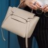 พร้อมส่ง กระเป๋าสะพายข้างผู้หญิง Belt Bag leather (S) [สีกากี]