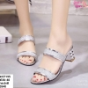 พร้อมส่ง รองเท้าแตะผู้หญิง งานสวม ST195-SIL [สีเงิน]