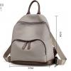 พร้อมส่ง กระเป๋าเป้ผู้หญิงผ้าไนล่อน- BAG-009 [สีเทา]