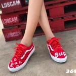 พร้อมส่ง Vans LV 3698-RED [สีแดง]