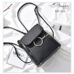 พร้อมส่ง กระเป๋าสะพายผู้หญิง - BAG-033 [สีดำ]