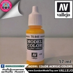 VALLEJO MODEL COLOR GOLDEN YELLOW 70.948