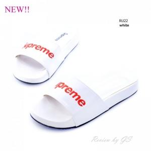พร้อมส่ง รองเท้าแตะ RU22A1-WHI [สีขาว]