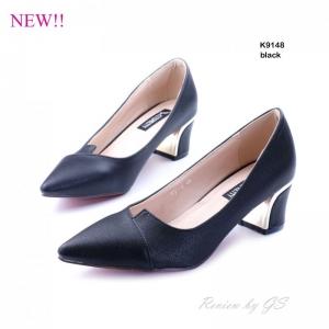 พร้อมส่ง รองเท้าคัทชูผู้หญิง K9148A1-BLK [สีดำ]