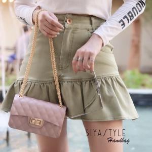 กระเป๋าสะพายแฟชั่น กระเป๋าสะพายข้างผู้หญิง New Mini Toy [สีนู๊ด]