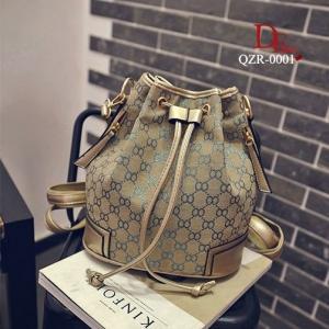 กระเป๋าสะพายหลังแฟชั่น กระเป๋าสะพายไหล่ ทรงขนมจีบแฟชั่น Style Gucci [สีน้ำเงิน ]