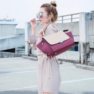 กระเป๋าสะพายแฟชั่น กระเป๋าสะพายข้างผู้หญิง Days bag [สีแดง]
