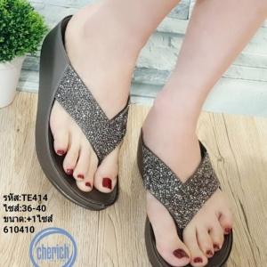 พร้อมส่ง รองเท้าสุขภาพ fitflop TE414-GRA [สีเทา]