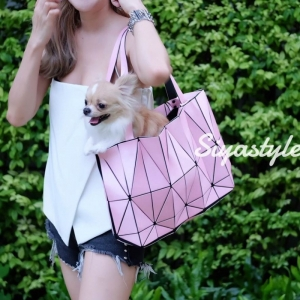 กระเป๋าสะพายแฟชั่น กระเป๋าสะพายข้างผู้หญิง Baobao crystal [สีชมพู]