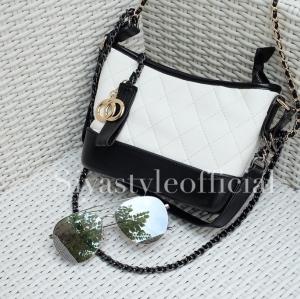 กระเป๋าสะพายแฟชั่น กระเป๋าสะพายข้างผู้หญิง Mini Classic [สีขาว]