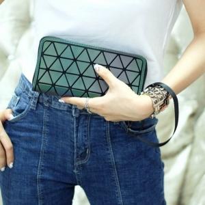กระเป๋าตัง กระเป๋าเงินผู้หญิง งานปั้มLOGO baobao style [สีชมพู ]