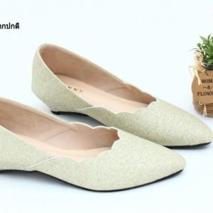 พร้อมส่ง รองเท้าคัชชูสวยๆ TG62356-GLD [สีทอง]