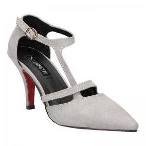 พร้อมส่ง รองเท้าส้นสูงแฟชั่น K9024-GRY [สีเทา]
