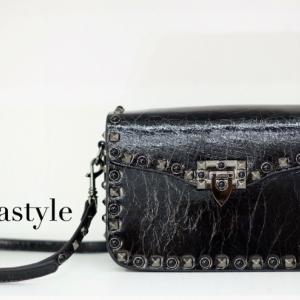 พร้อมส่ง กระเป๋าสะพายข้างผู้หญิง VN bag [สีดำ]