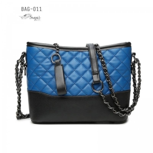 พร้อมส่ง กระเป๋าสะพายผู้หญิง-BAG-011 [สีน้ำเงิน]