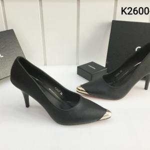 พร้อมส่ง รองเท้าส้นสูงแฟชั่น K2600-BLK [สีดำ]