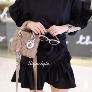 กระเป๋าสะพายแฟชั่น กระเป๋าสะพายข้างผู้หญิง Mini Lady Bag [KHA]