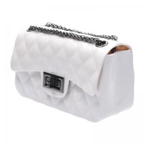 กระเป๋าสะพายแฟชั่น กระเป๋าสะพายข้างผู้หญิง Mini Toy Classic [สีขาว]