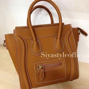 กระเป๋าสะพายแฟชั่น กระเป๋าสะพายข้างผู้หญิง ซีลีนนาโน (CELINE NANO) [สีส้ม]