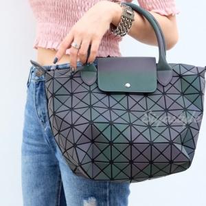 กระเป๋าสะพายแฟชั่น กระเป๋าสะพายข้างผู้หญิง ลองชอมรุ้ง [สีรุ้ง]