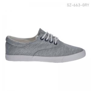 พร้อมส่ง รองเท้าผ้าใบแฟชั่น SZ-663-GRY [สีเทา]
